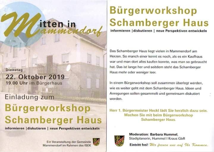 Buergerworkshop 2019 10 22